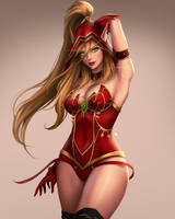 Valeera by umigraphics