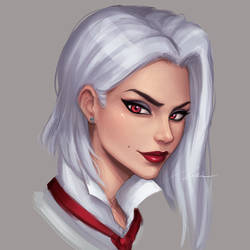 Ashe by umigraphics