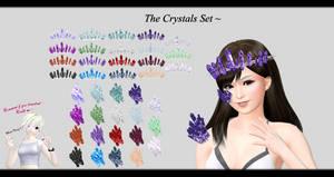 [MMD] The Crystals Set DL ~ by o-DSV-o