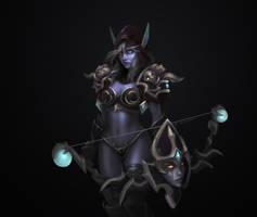 Lady-sylvanas-windrunner by Lisa-Z