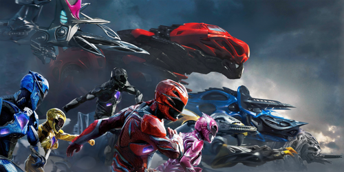 Power Rangers 2017 Wallpaper,Banner  textless by mintmovi3
