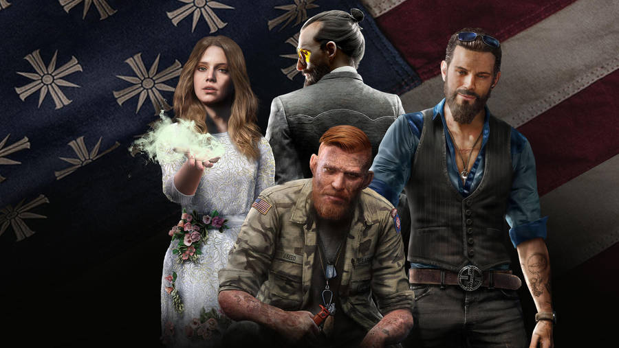 Far Cry 5 Seed Family  wallpaper 1920x1080 by mintmovi3 on ...