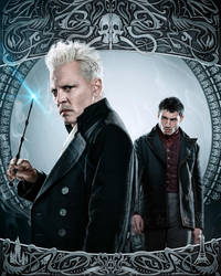 Fantastic Beasts (2018) | Grindelwald Credence by mintmovi3