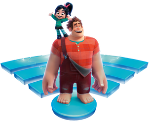 Ralph Breaks the Internet | Ralph_Vanellope png by mintmovi3