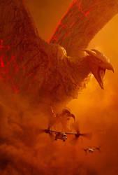 Godzilla: King of the Monsters Rodan textless by mintmovi3