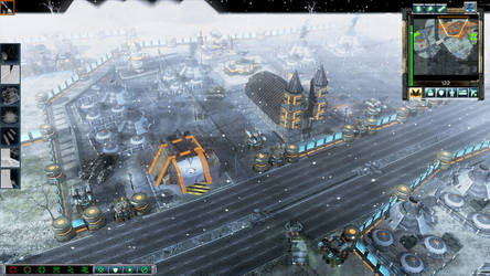 military base in the snow by danny14180jason