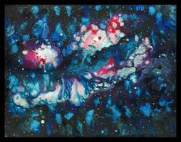 Swan Nebula - Cmac13 trade by amyhooton