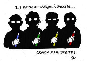 Hommage Charlie by Urluberluch