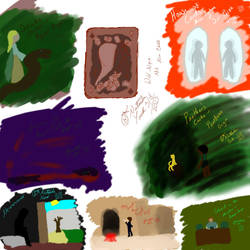HoC: Doodles by WhiteFoxKitsune