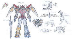 Megazord Wing by saramus01