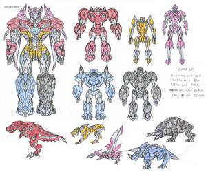 Transformers Megazord by saramus01