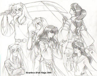 More AU Inuyasha by Heartless-iPod-Ninja