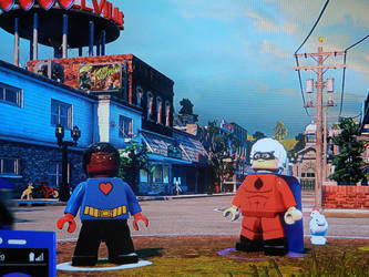 Ace Savvy and One Eyed Jack in Lego DC Villains by Blackrhinoranger