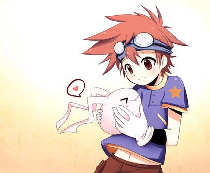Digimon - Old times by giannysuki