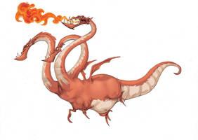 dragon by ahmad-nady