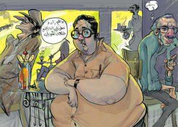 fat guy 1 by ahmad-nady