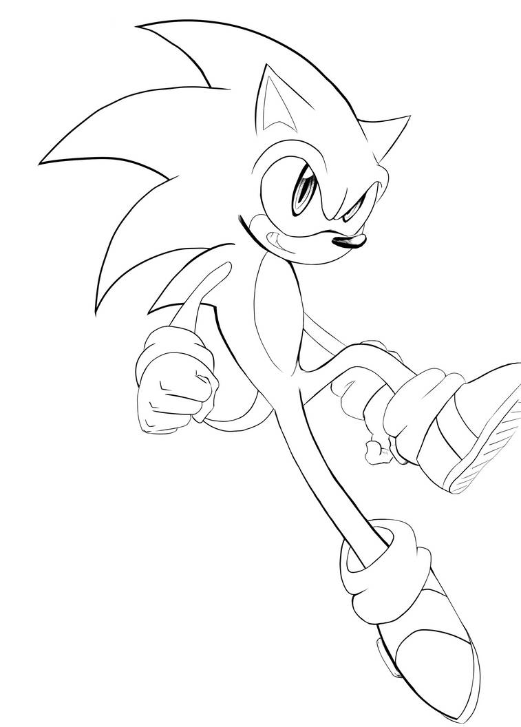 Sonic Ink WIP by Maddfox999