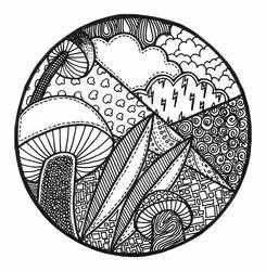 Fungus Zendala by sweaterbrau