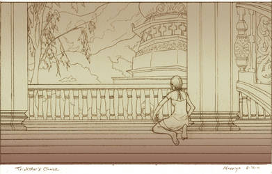 Aly - Line Art by Maseiya
