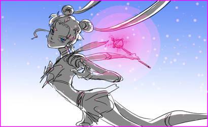 Sparkly Sailormoon by Maseiya