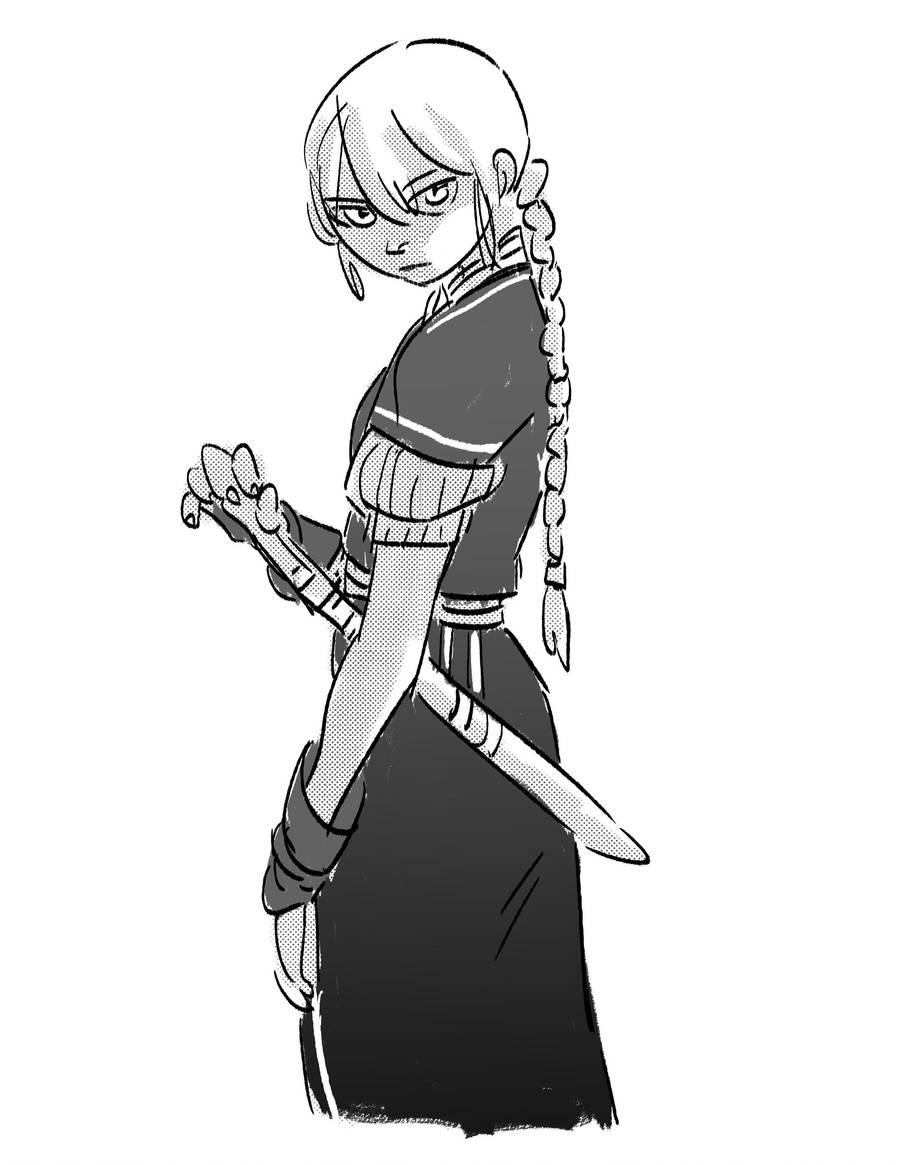 Beka sketch by Maseiya