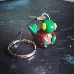 Mini Tonberry Keycharm by KeruriDerago