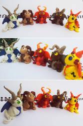 Zodiac Dragons by KeruriDerago