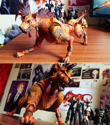 Red XIII New Model by KeruriDerago