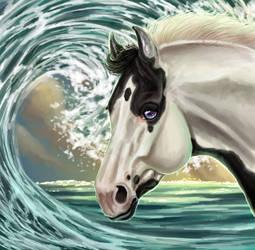 YHH - Waves by Bleskobleska-Yandere