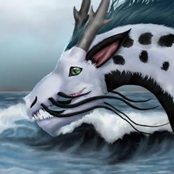 Sea Foam - Commission by Bleskobleska-Yandere