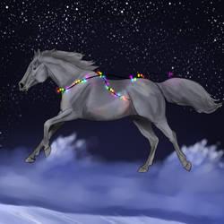 YHH - Christmas lights - OPEN by Bleskobleska-Yandere