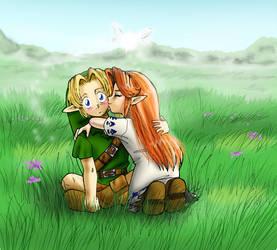 Zelda: Goodluck Fairyboy by Adella