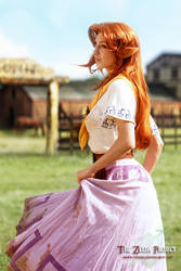 TZP: Malon in the Pasture by Adella