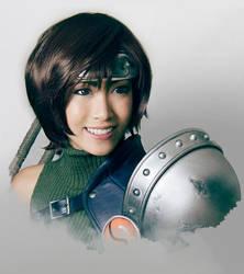 Yuffie Kisaragi Cosplay Portrait by Adella