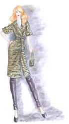 Fashion Design Final Sketch 1 by Adella