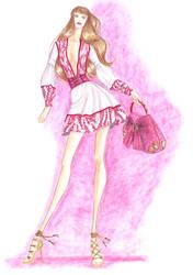 Fashion Design Final Sketch 2 by Adella