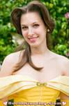 Belle in the Garden by Adella