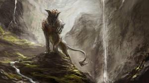 Axe Head Lion by chanmeleon