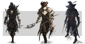 Highwayman Character Concept by chanmeleon