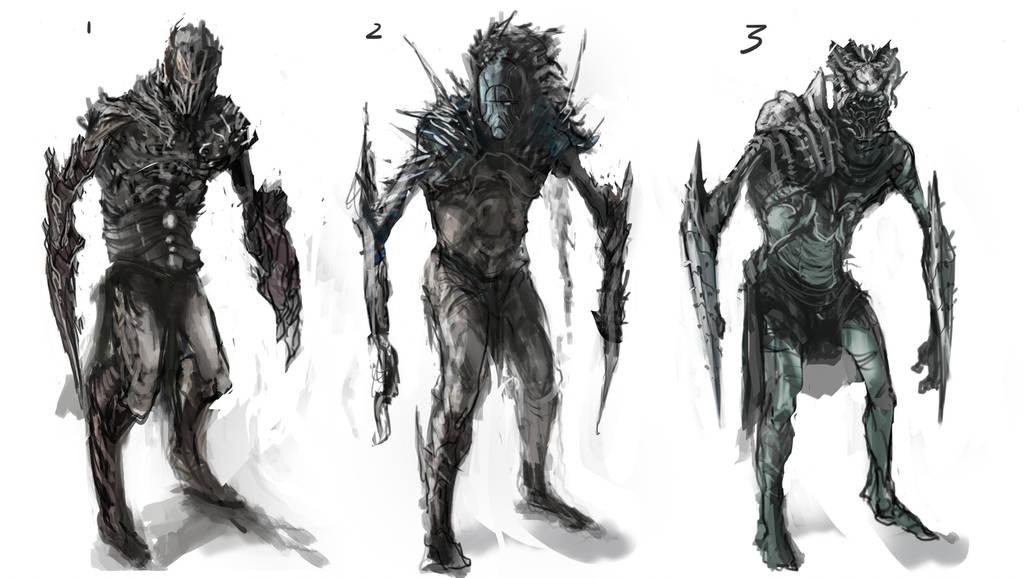 Elf Character sketch-Horgol by chanmeleon