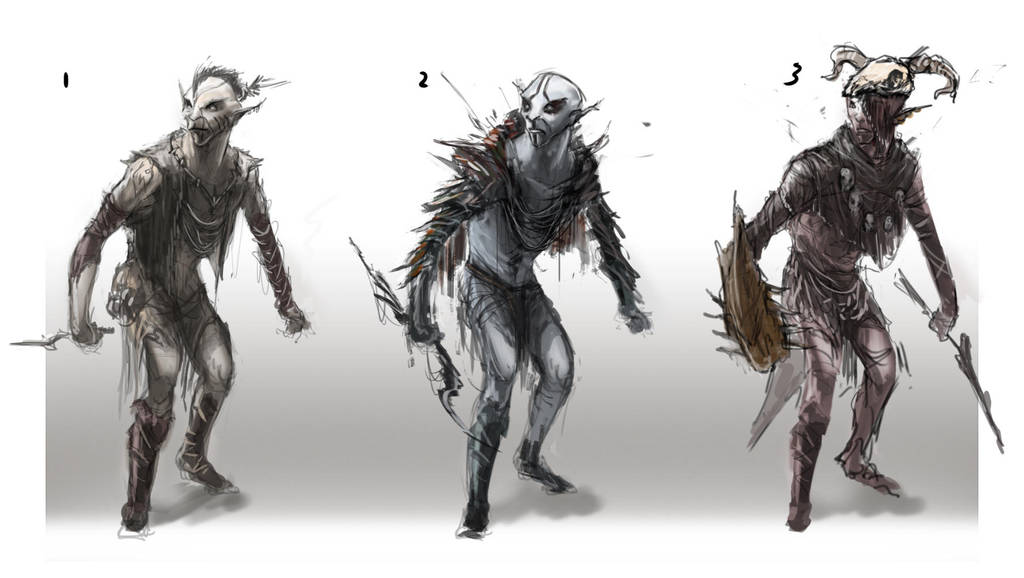 Elf Character sketch-Shin by chanmeleon