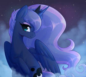 Night Princess by FluffyMaiden