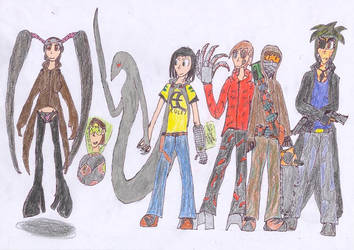 Jakesons Team by Tentomon4
