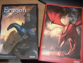 Swe Eragon books by Tentomon4