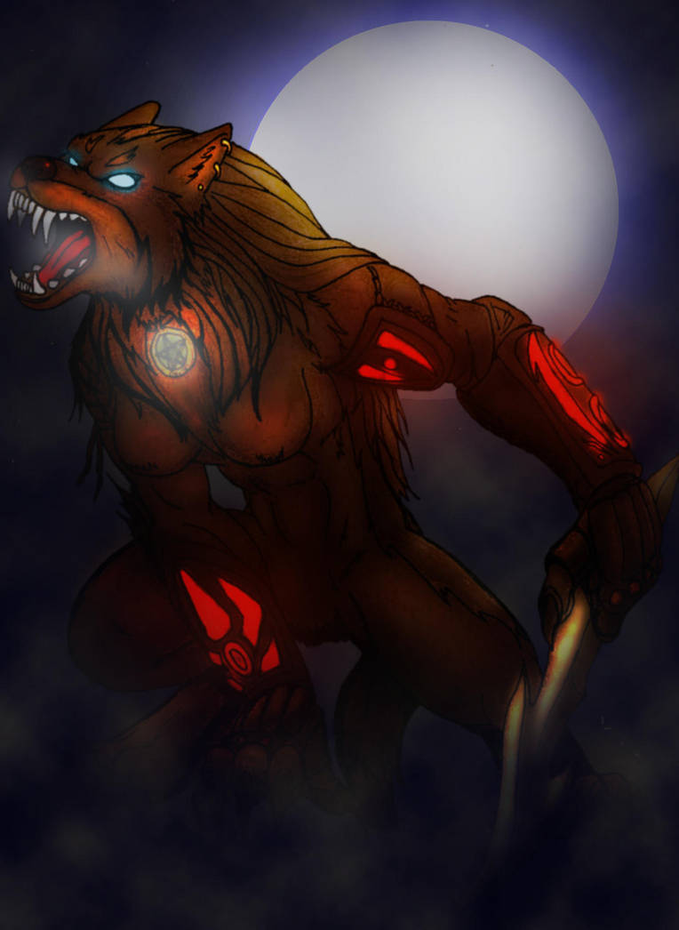Rage of the Full Moon I Color by anubis-x