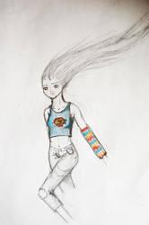 R fanart :: Supergirl by Natasha-V