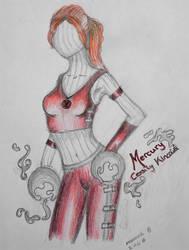 NXAX fanart :: Cess - Mercury by Natasha-V