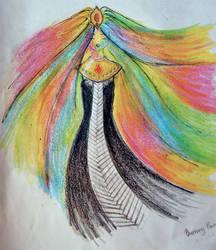 R fanart :: Burning Painting by Natasha-V