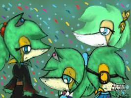 Happy birthday to me~ by StarlightNexus-Chan