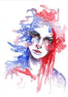 Abstract Watercolour #2 (scanned) by tsukiko-kiyomidzu